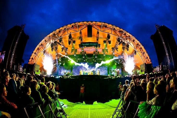 Björk Roskilde Festival 080712 - 6 (© Steffen Jørgensen)