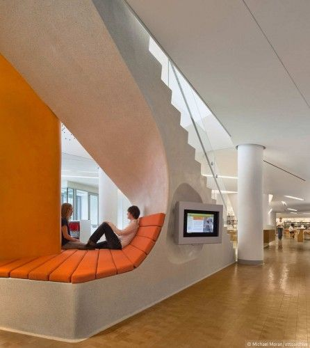 School Design | Educational Spaces | The New York Public Library / 1100 Architect