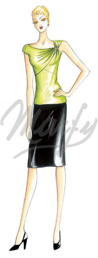 Sewing pattern Dress 3152