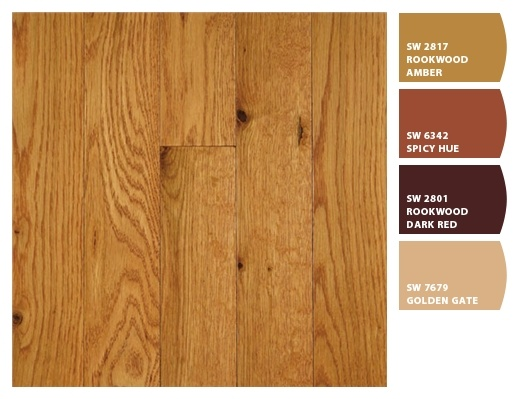 These Are My Oak Floors From Great Lakes Wood Flooring. And These Are The  Sherwin