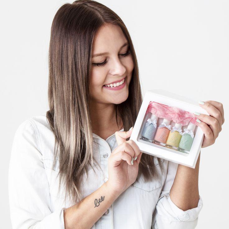 DagiBee Nagellackset mit 4 verschiedenen Nagellacken