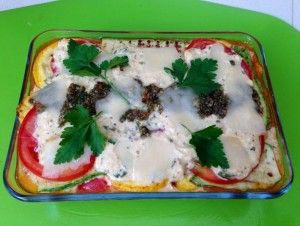 deVegetariër.nl - Vegetarisch recept - La-dolce-vita-lasagne met kaas en citroen