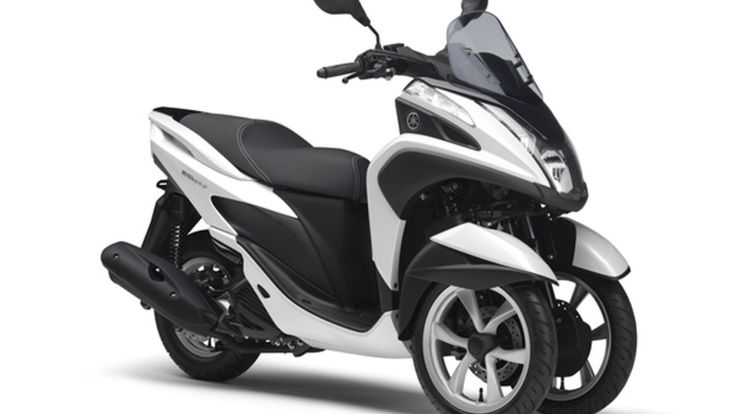 Yamaha debuts Tricity 3-wheel scooter [w/video] #pfister #indira
