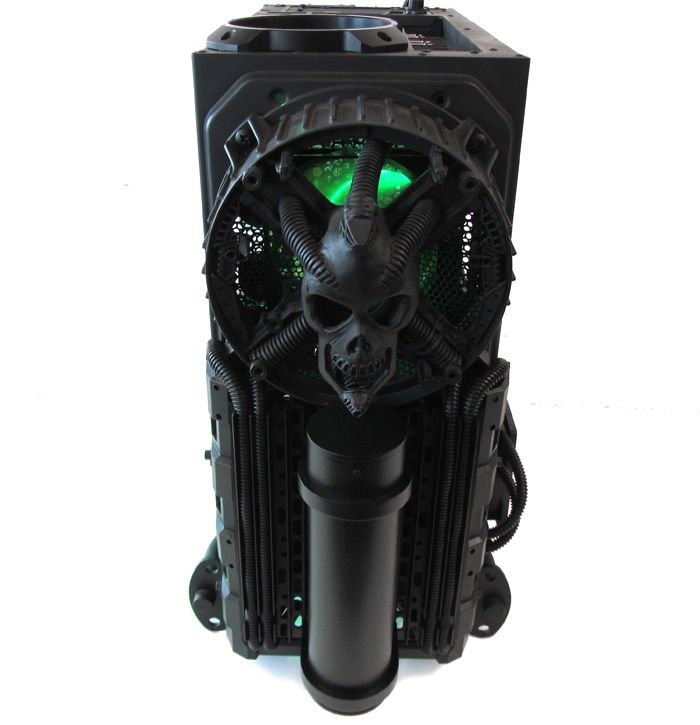 "Cooler Master Case Mod: H.R. GIGER Tribute, ""BIOMECHANICAL"""