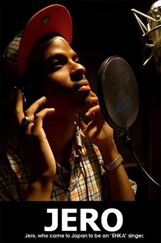 Jero-Japan's first Black Enka Singer...amazing voice..beautiful