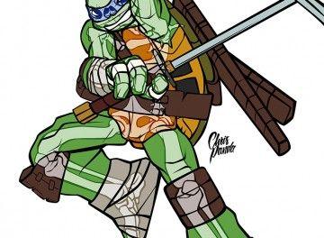 TMNT Leonardo Ultimate Xray