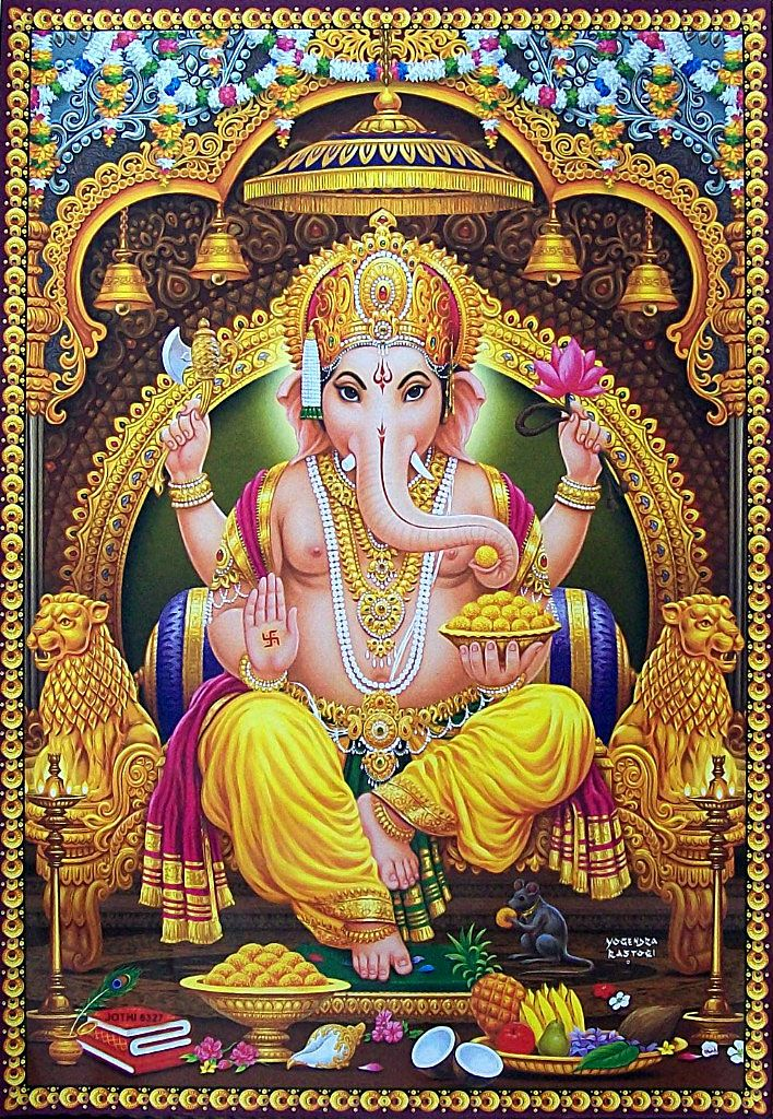 Lord Ganesha HD Photo