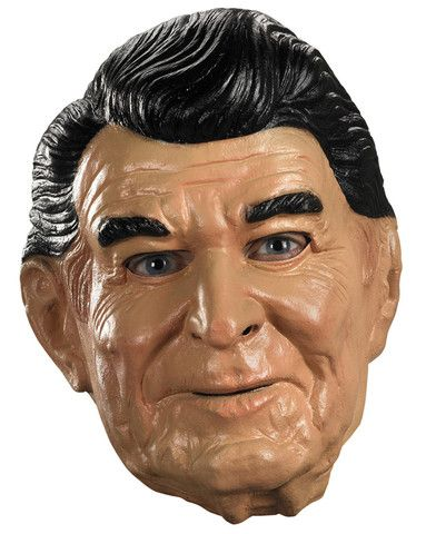 PRESIDENT RONALD REAGAN HALLOWEEN MASK Latex Full Head Realistic Halloween MASK