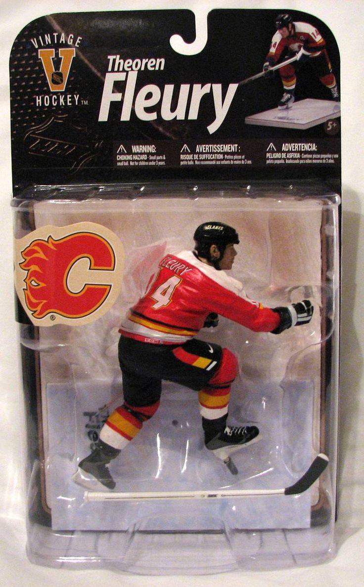 Theo Fleury Calgary Flames McFarlane NHL Legends Series 8