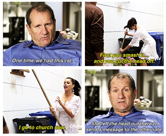 Probably one of my favorite Modern Family moments. I die every time.