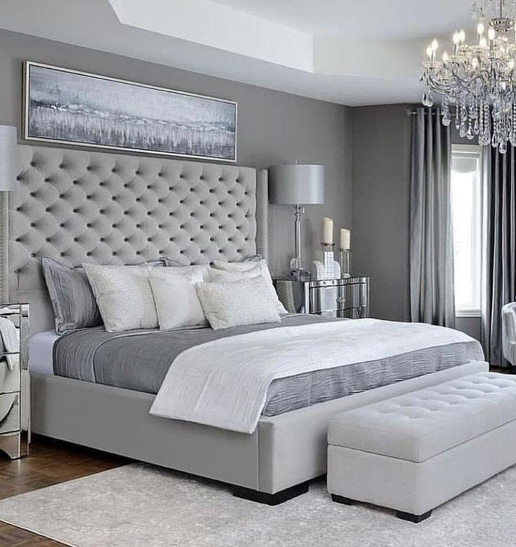 47 Stylish Master Bedroom Design Ideas Budget Grey Bedroom