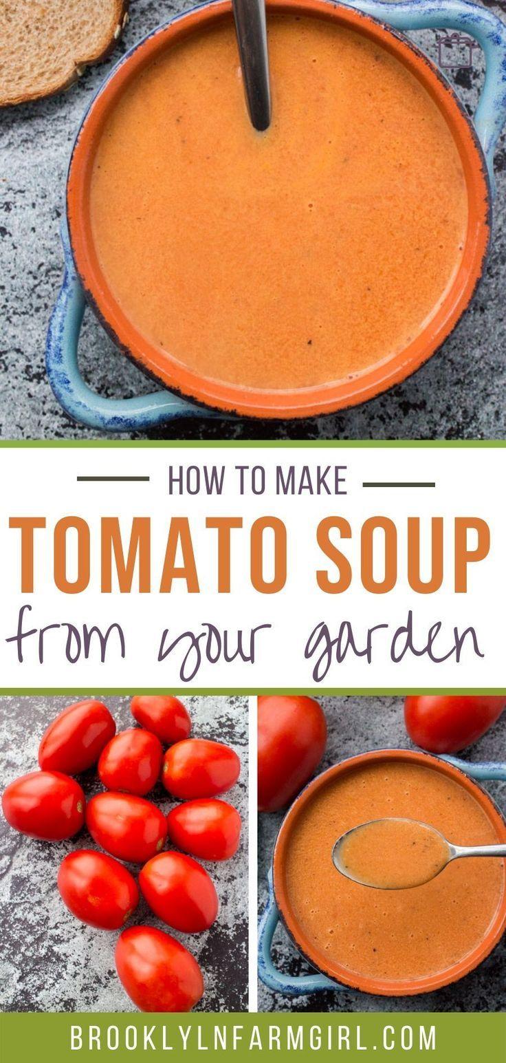 Roasted Fresh Tomato Bisque Seasonal Tomatoes Cream Basil Recipe Tomato Bisque Tomato Bisque Recipe Fresh Tomatoes