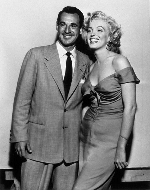 Marilyn Monroe & Ray Anthony, 1952