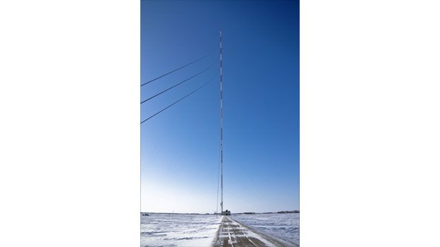 Tallest Radio Mast - KVLY-TV mast (United States)