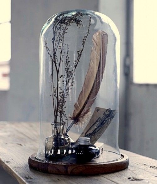 Decor crush: bell jars