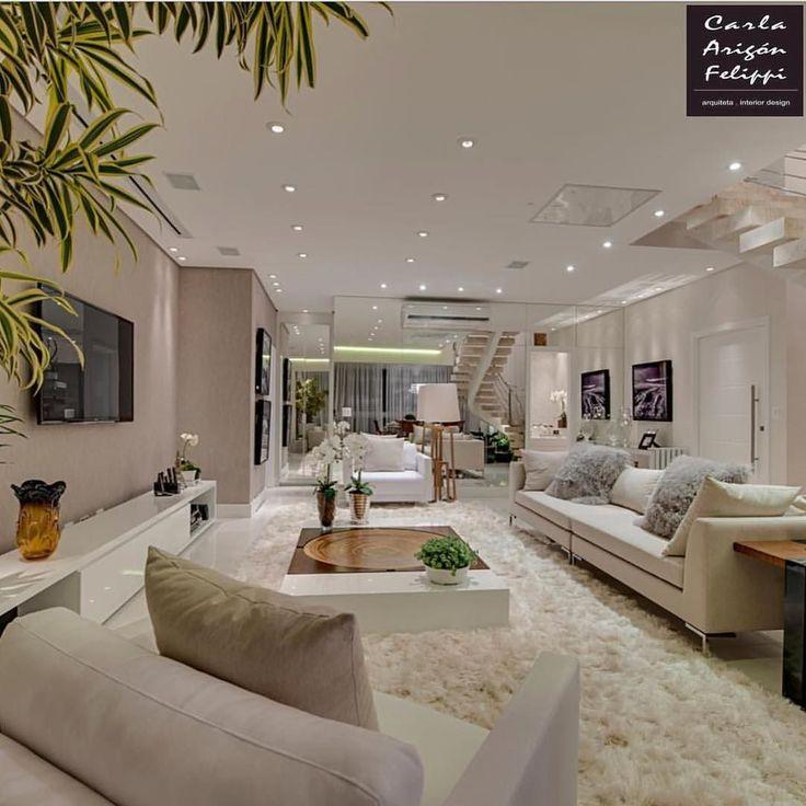 Amazing Classy White Living Room / Only Me ✌✔ xoxo