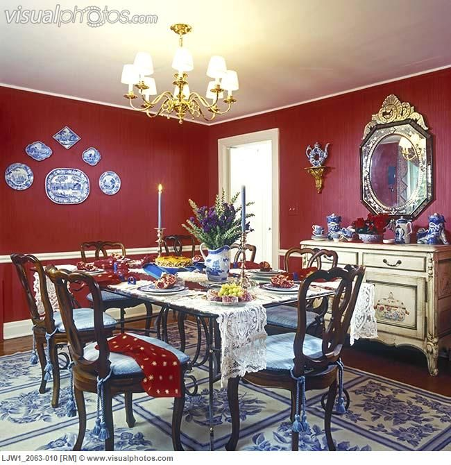 19 best Dining Room images on Pinterest | Dining room colors, Red ...