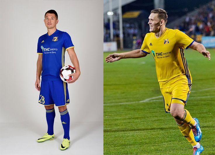 Camisas do FC Rostov 2016-2017 Adidas