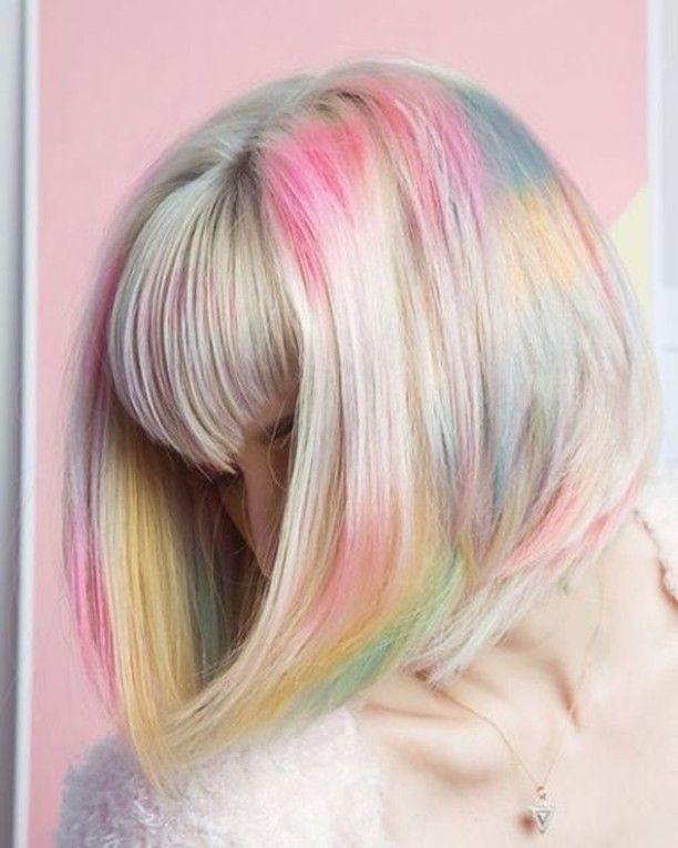 Pure pastel perfection ☁ Hair Colorist – Karina Soto #hairspiration