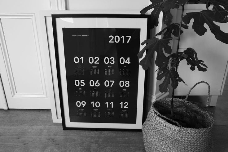F R A M E D ✔️👌🏼 our 2017 Wall Calendar sitting pretty in @ejmaxwell's beautiful home! Shop it online & in store now #anorganisedlife