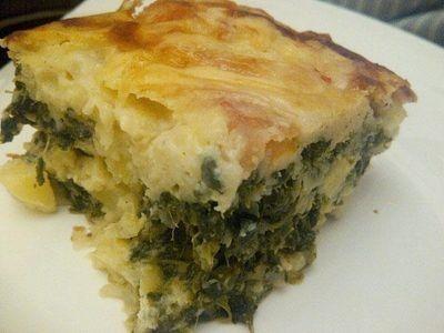 Crustless Spinach Quiche Recipe