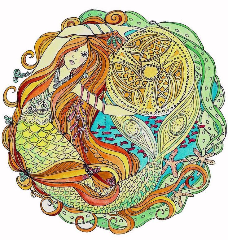 Schottische Meerjungfrau Drucken verschiedener von MythWeaver