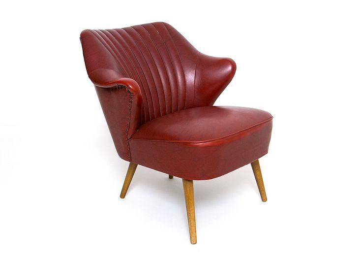 Simply Modern – design XX wieku | Fotel klubowy lata 50