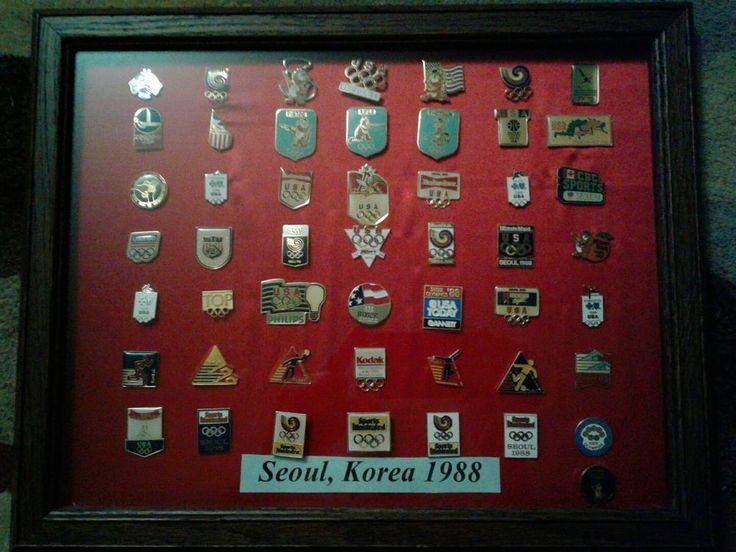 1988 Olympic Pin Antique set Korea Seoul