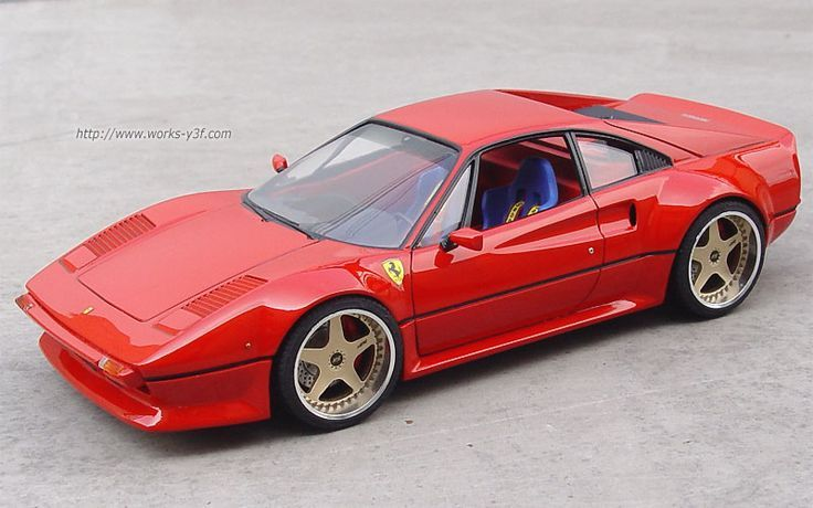 Visit The MACHINE Shop Café... ❤ Best of Ferrari @ MACHINE ❤ (Classic Ferrari 328 Supercar)