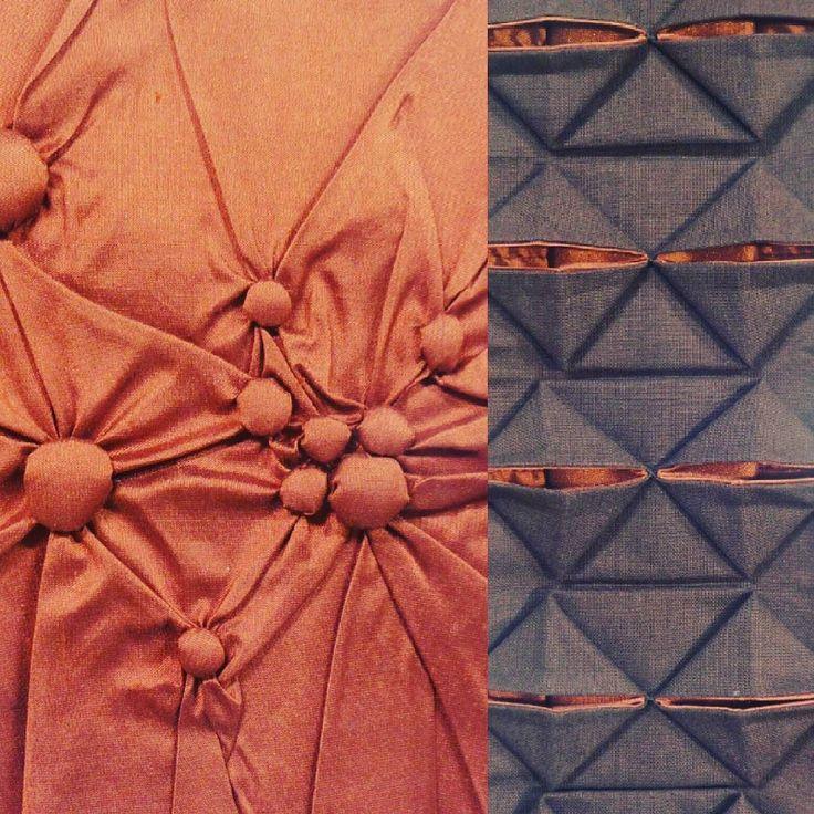 #knotting and #origami . . . #textileart #colorgasm #sewing #fineart #art #eatenkate  #studiolife #contemporarycraft #stitching #hantverk #sweden #crafts #konsthantverk #stitchersofinstagram  #feelingstitchyig #fiberart #fiberartsweden #needlecraft #konst #kunst #taide #dutchartist #sweden
