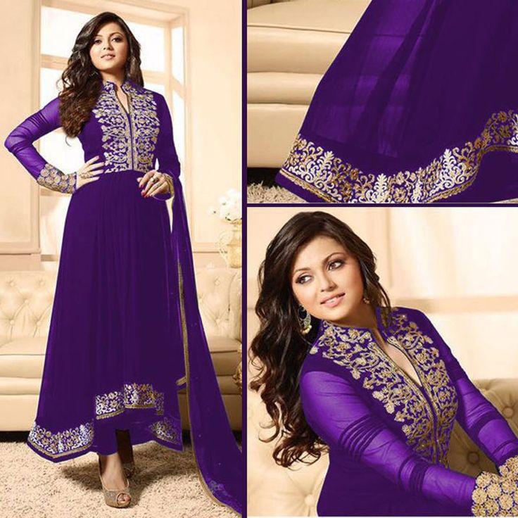 Punjabi Salwar Designer Indian anarkali Pakistani Suit unstiched salwar fabrics #Handmade #SalwarKameez