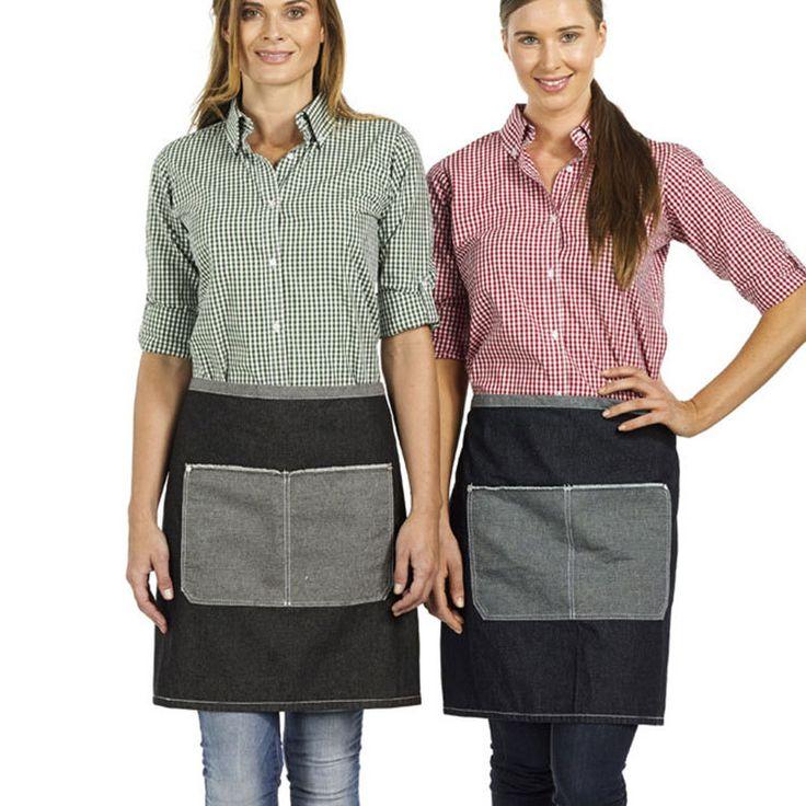 EXPRESSO | vintage denim short apron