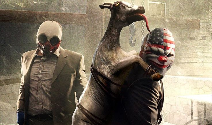 nice Payday 2 is getting a Goat Simulator game mode