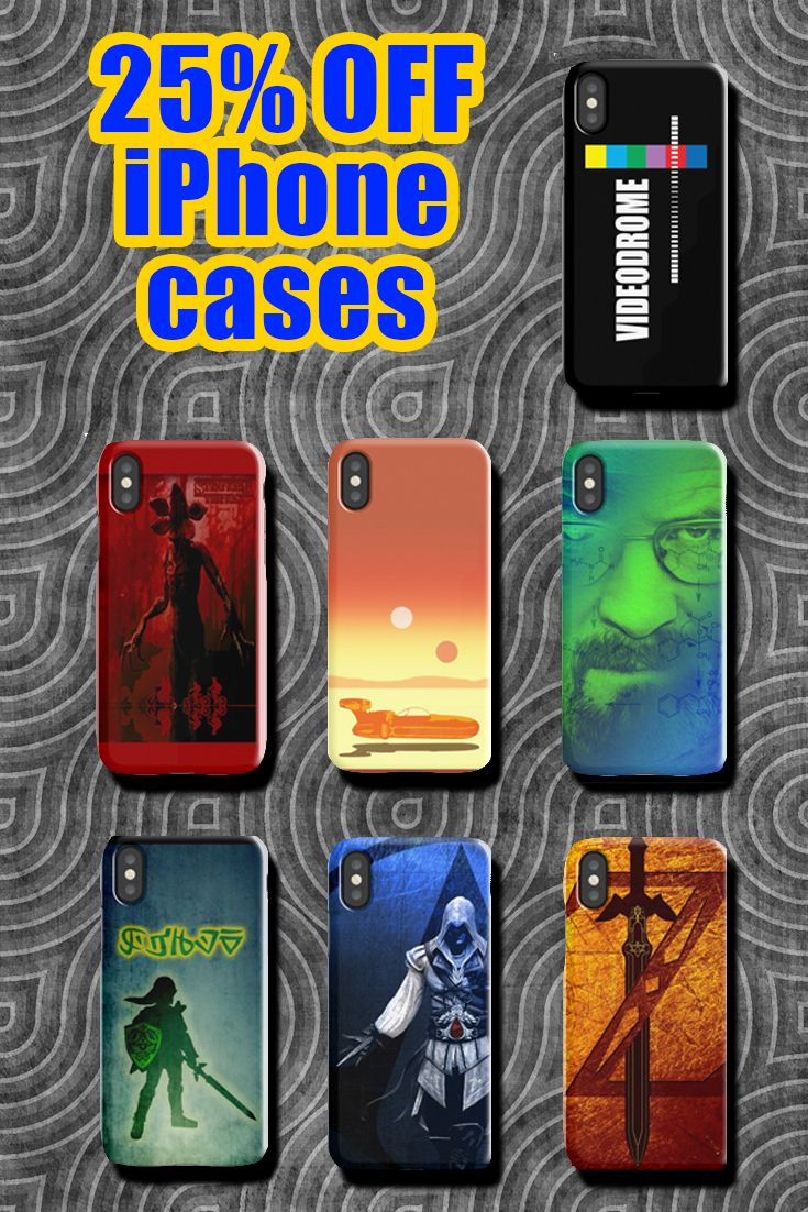 25% off iPhone Cases, Samsung Cases, & iPhone Wallets. Use code GIFTCASES. Movies, TV series  & Games iPhone cases. #sales #discount #save #iphone #iphonecase #style #39 #shopping #onlineshopping #art #movies #family #redbubble #giftsforher #giftsforhim #gifts #geek #gaming #gamer #cinema #ezioauditore #scifi #thelegendofzelda #videodrome #breakingbad #strangerthings #xmasgifts #christmasgifts #gifts #kids #trendy #popular