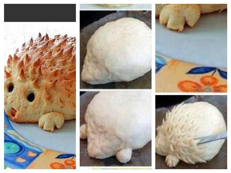 Pan en forma de perrito y diferentes formas de animalitos | Cocinar en casa es facilisimo.com