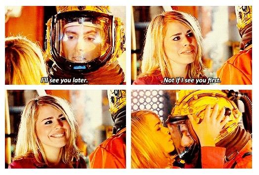 Rose Tyler. Doctor Who. So many feels!