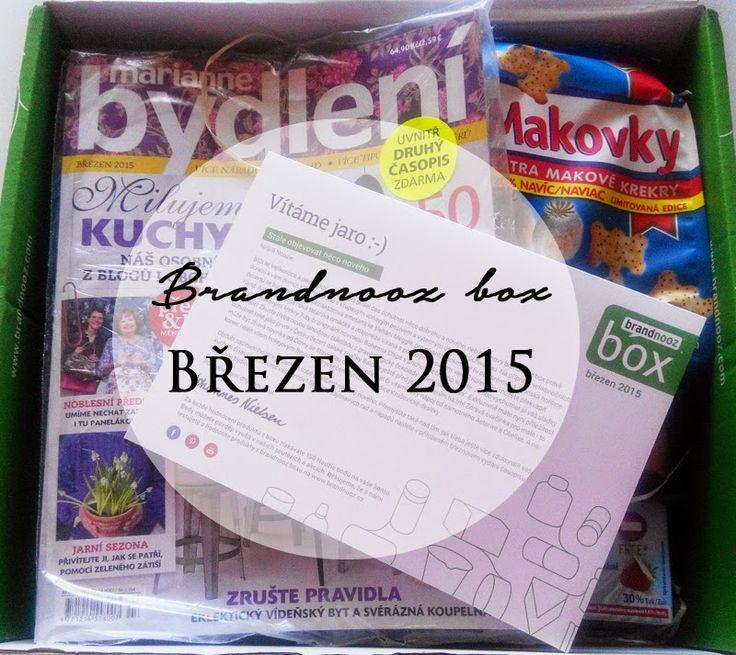 Co vše přinesla březnová edice brandnooz boxu? :-) Podívat se můžete třeba zde: http://www.brandnooz.cz/products/brandnooz-box-brezen-2015