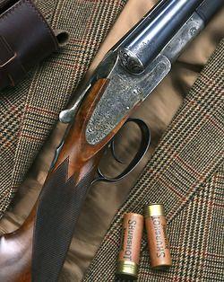 Ловна пушка доцевка/ Double barrel shotgun SxS