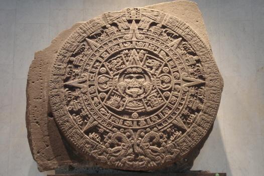 LA TAN VAPULEADA PIEDRA DEL SOL.....LA HAN UTILIZADO RECIENTEMENTE PARA MOSTRARLA COMO EL CALENDARIO MAYA,DATO ABSOLUTAMENTE FALSO,QUE GENTE SIN ESCRUPULOS SUBE A INTERNET CREANDO UNA GRAN CONFUSION.  PIEDRA DEL SOL,MAGNIFICA!!!!  Museo de Antropologia e Historia de Mexico