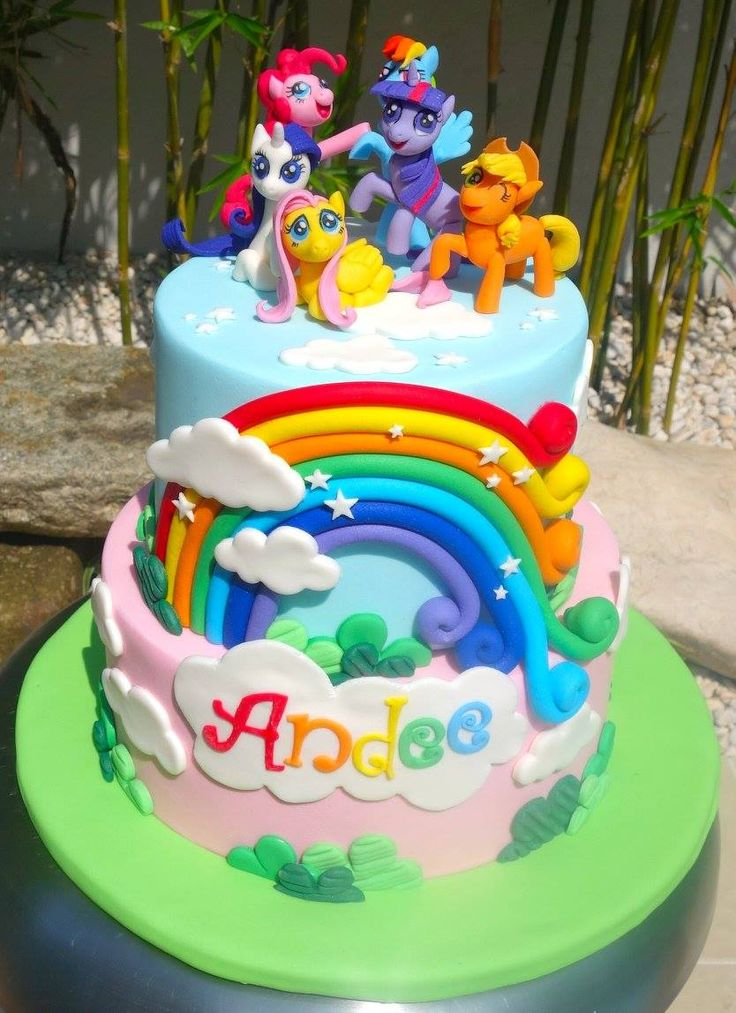 My Little Pony MLP cake
