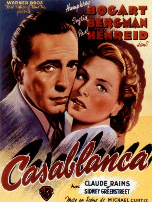 A Casablanca, pendant la Seconde Guerre mondiale, le night-club le plus couru de la ville est tenu par Rick Blaine, un Américain en exil. Mais l'établissement sert également de refuge à ceux qui voudraient se procurer les papiers nécessaires pour qui...