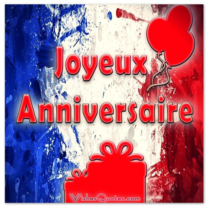 Birthday Greetings Translation French English – Happy Birthday Greetings in French