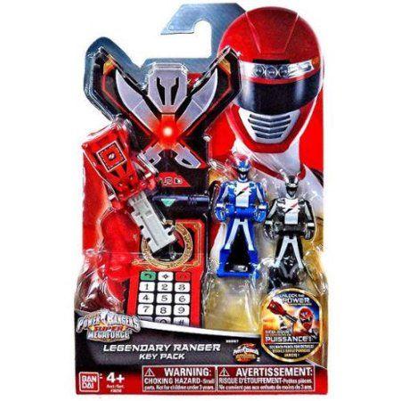 Power Rangers Super Megaforce Legendary Ranger Key Pack [Operation Overdrive], Multicolor