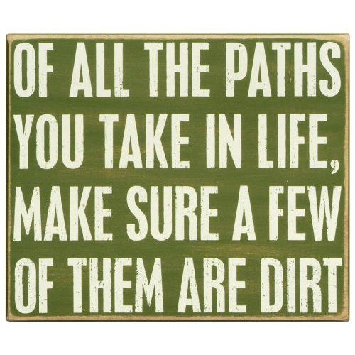 Dirt Path Sign