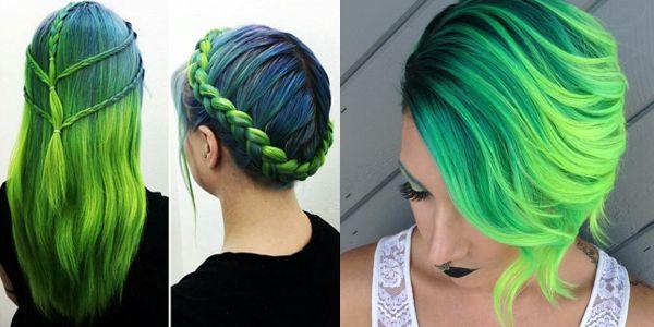 Προτάσεις για πράσινα μαλλιά!!!