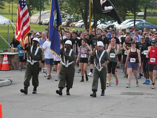 Last year's 5K Run and Fun Walk raised $110,000 to support homeless prevention programs for veterans and their families. (Photo: ~Courtesy of Community Hope)