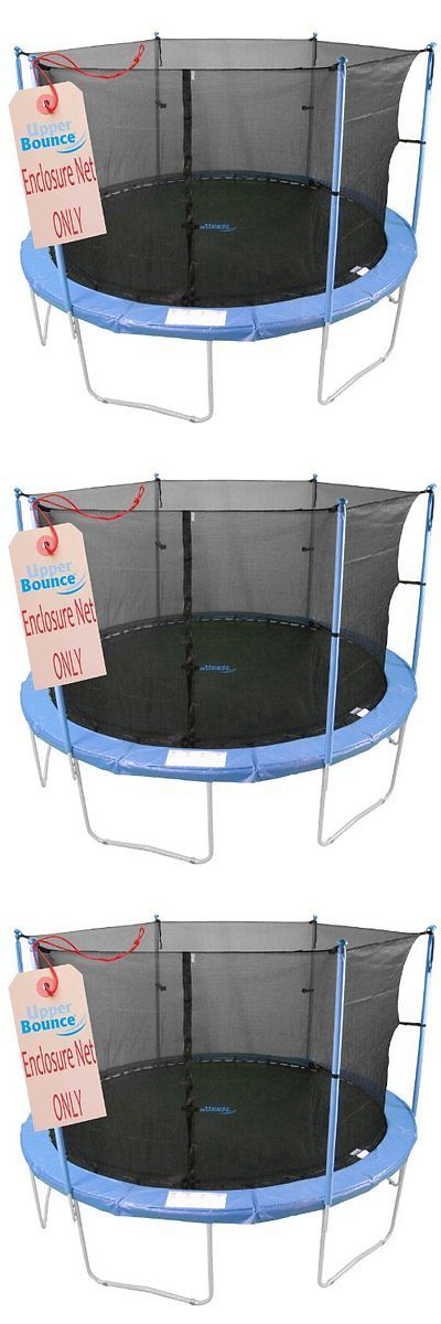 Trampolines 57275: Upper Bounce Trampoline Enclosure Safety Net Fits For 16-Feet Round Frame Using -> BUY IT NOW ONLY: $121.95 on eBay!