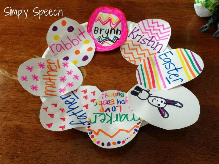 Spring & Easter Speech Craftivities!