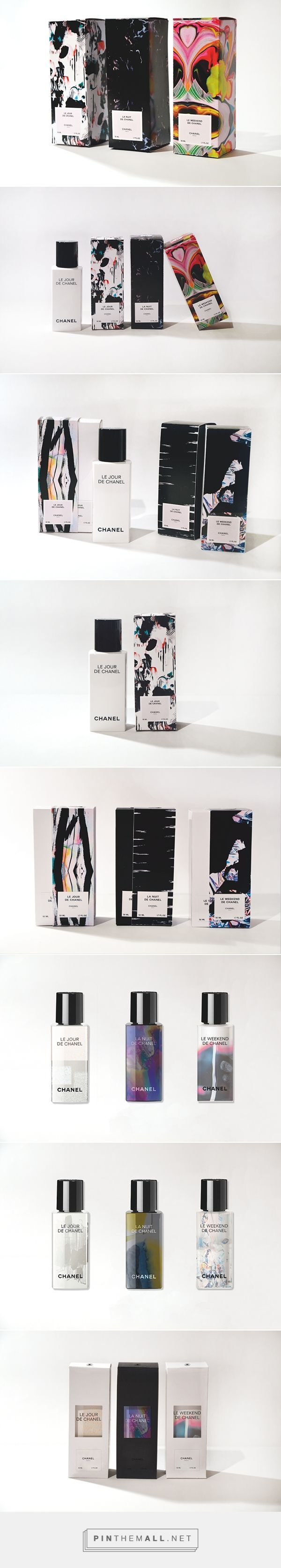 Love this packaging. The abstract designs combined with the minimalist type make it look very modern and on trend