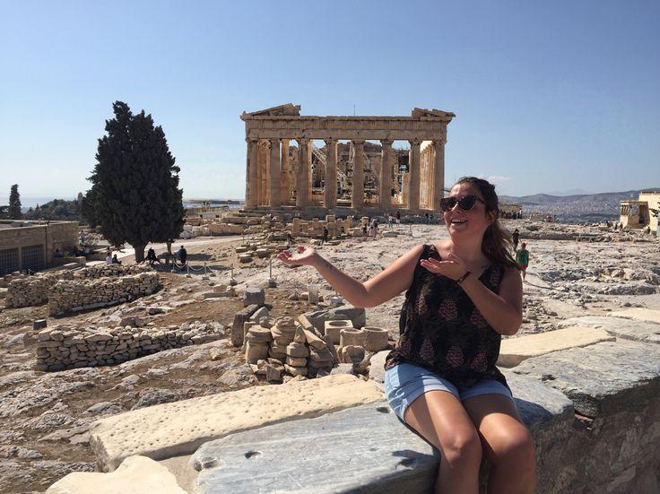 Akropolis 🏛 #athens #grecee